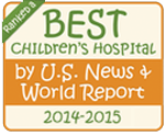 Best Children's Hospital by U.S. News & World Report 2014-2015