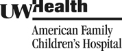 UW Health American Family Children's Hospital Logo